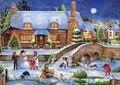 Diy 5d алмазов картина Рождество дом головоломки аватар вышивка алмаз мозаика главная наклейки дети живопись украшение комнаты