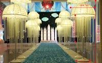 Drop of Jellyfish lanterns wedding centerpiece,road lead/wedding pillars, wedding decoration furnishing articles