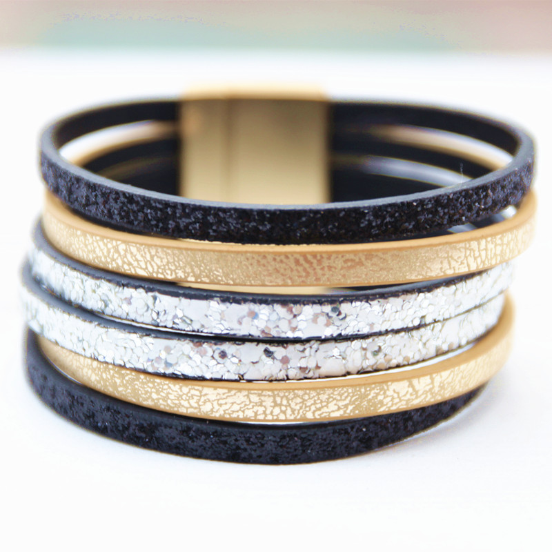 Dongmu Jewllery The new handmade fashion womens leather bracelet, for womens fashion cha ...