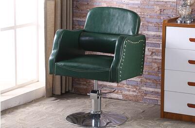 Купить с кэшбэком Barber chair stereotypes cotton retro haircut chair  hairdresser chair  lift 3032