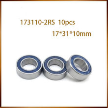 10 Pcs 173110 Bicyle Bearing 17X31X10 Mm Fiets Hub Beugels Spares 173110RS Si3N4 Kogellagers 173110-2RS