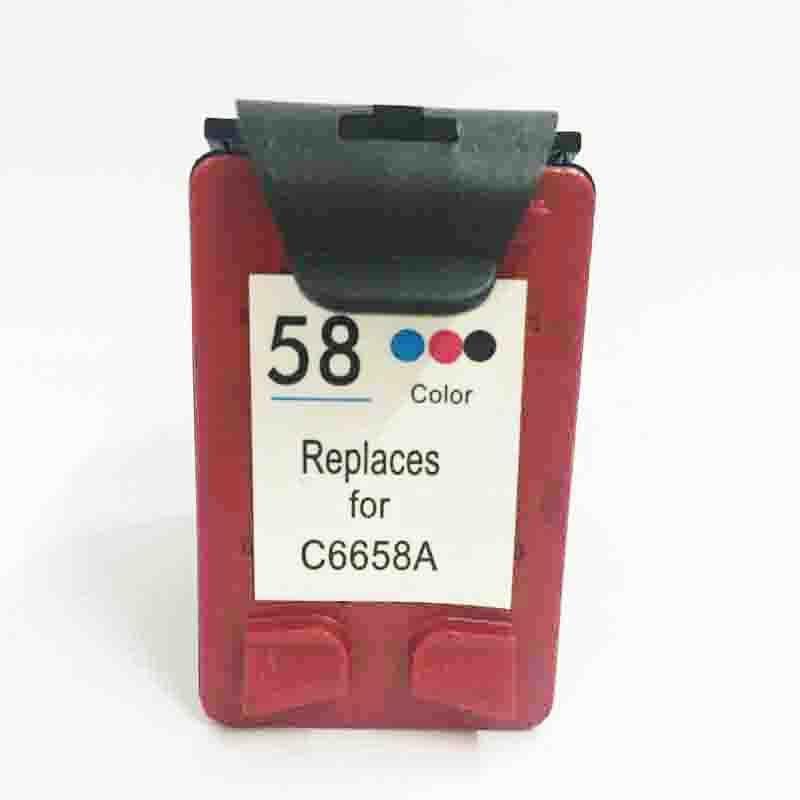 Vilaxh 58 Compatible Ink Cartridge Replacement For HP 58 For DeskJet 3620 3620v 3650 3653 3658 F380 F388 PSC 1350 1350v Printer