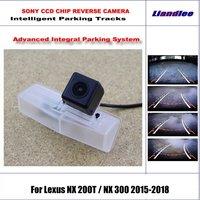 Intelligentized Reversing Camera For Lexus NX 200T / NX 300 2015 2018 Rear View / 580 TV Lines Dynamic Guidance Tracks