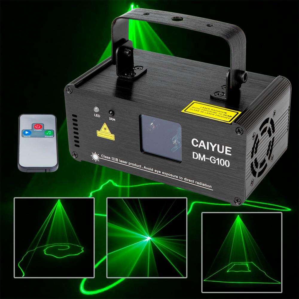 Professional DMX 100mW Green Laser Stage Lighting Scanner Effcet Xmas Bar Dance Party Show Light DJ Disco Laser Projector Lights