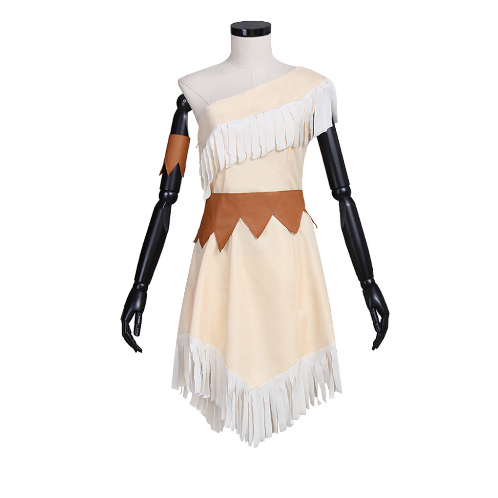 Princess Pocahontas Dress Adult Women's Halloween Fancy Princess Dress Cosplay Costume Custom Made