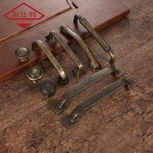 AOBITE Ретро Металл античная латунь 128 мм для ящика кухонного шкафа дверные ручки мебельные ручки шкаф вытяжные ручки 610