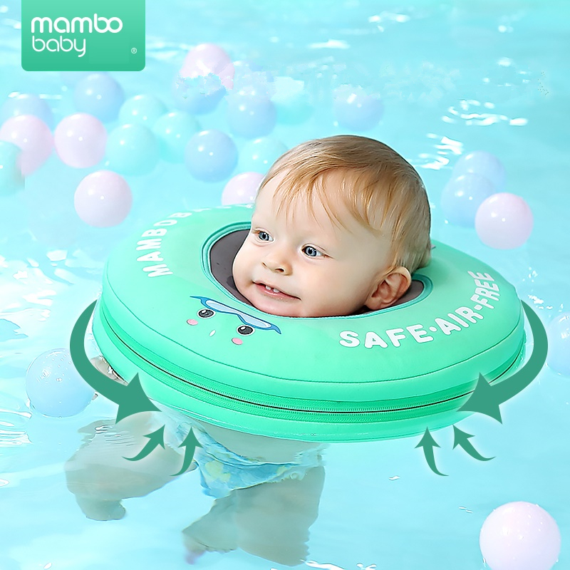 Solid Safety Non-inflatable Baby Swim Floating Neck Ring Swimming Float For Accessories Baby Swimming Pool Toys Swim Trainer