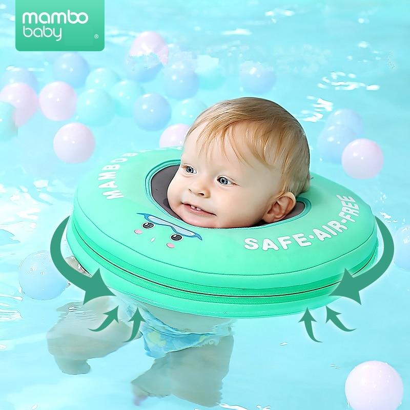 Solide Baby Schwimmen Neck Ring Baby-neck Float Flot Adores Para Piscina Schwimmen Trainer Infant Neck Float Baby Schwimmen Zubehör GroßE Vielfalt