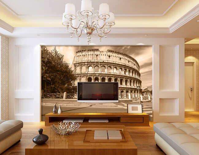 Papel DE parede 3 d personalizado, pista DE carreras DE cubo restaurando maneras antiguas usadas en la sala DE estar dormitorio TV Configuración DE pared papel tapiz