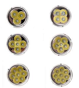 Image 4 - Linterna LED potente 3T6 4T6 5T6 7T6 8T6 9T6 18650, luz táctica Ultra brillante, lámpara portátil, 5 modos de caza y camping