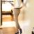 2017 HotSale Fashion Show Fina Calças Casuais Meados Calças de Cintura das Mulheres B712314Y