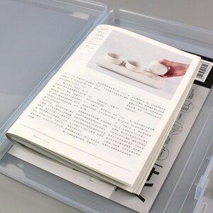 Image 5 - Полипропиленовая пластиковая прозрачная коробка для документов, Офисная бумажная коробка для документов, водонепроницаемый чехол для документов