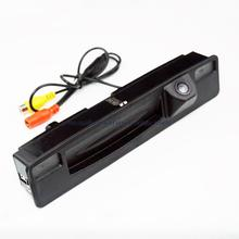 for Sony CCD car Rear view Reverse camera for 2015-2017 Ford Focus trunk hand switch camera night vision waterproof wide angle
