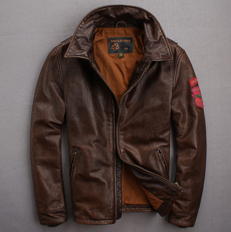 Popular Retro Leather Jackets for Men-Buy Cheap Retro Leather ...