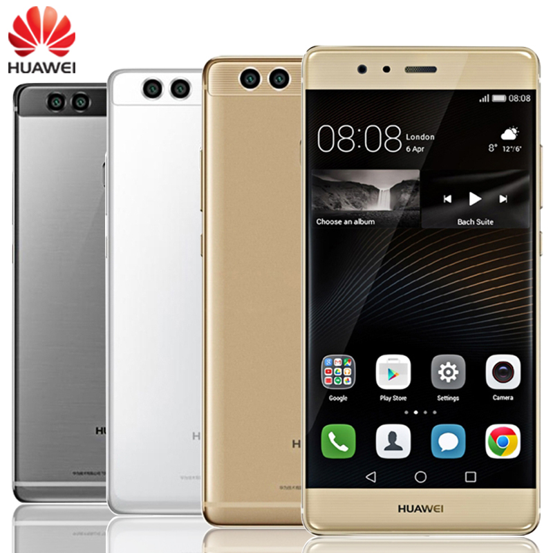 Original Huawei P9 Plus Cell Phone 4GB RAM 128GB ROM Kirin 955 Octa Core 5.5″ Screen 2*12.0MP Camera Android 6.0 LTE Smartphone