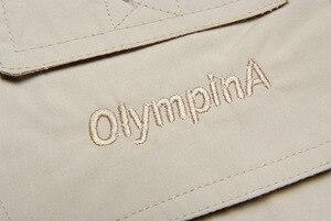 Image 4 - Grandwish duży rozmiar Olympina męskie armii kamizelki w stylu Casual z wieloma kieszeniami męskie bez rękawów moda kamizelki Plus rozmiar XL 5Xl,DA757
