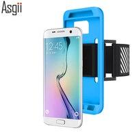 Sport Arm Nhạc Phone Case Cho Samsung Galaxy S7/S7 Cạnh Chạy Bộ Leo Núi Chạy Cover Quay Lại Ngoài Trời Trường Hợp Tách Coque Trường Hợp