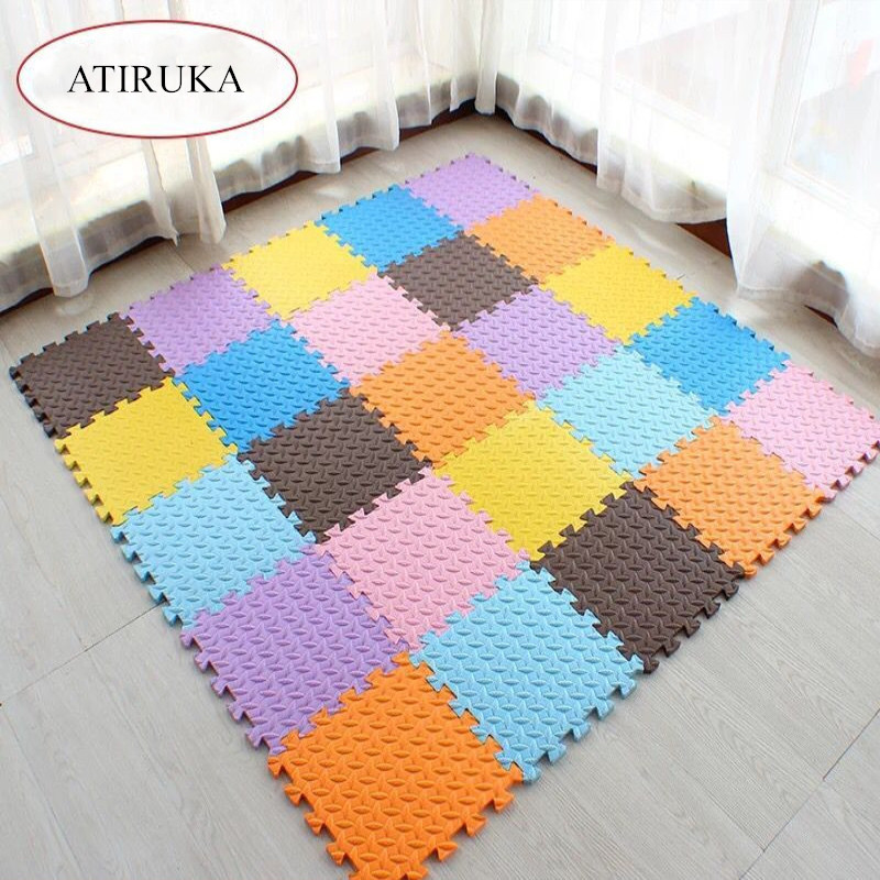 Foam Kids Carpet Play Mat Puzzle Tapis Enfant Baby Gym Game Mat In The Nursery Exercise For Children Tiles Baby Tapete Infantile