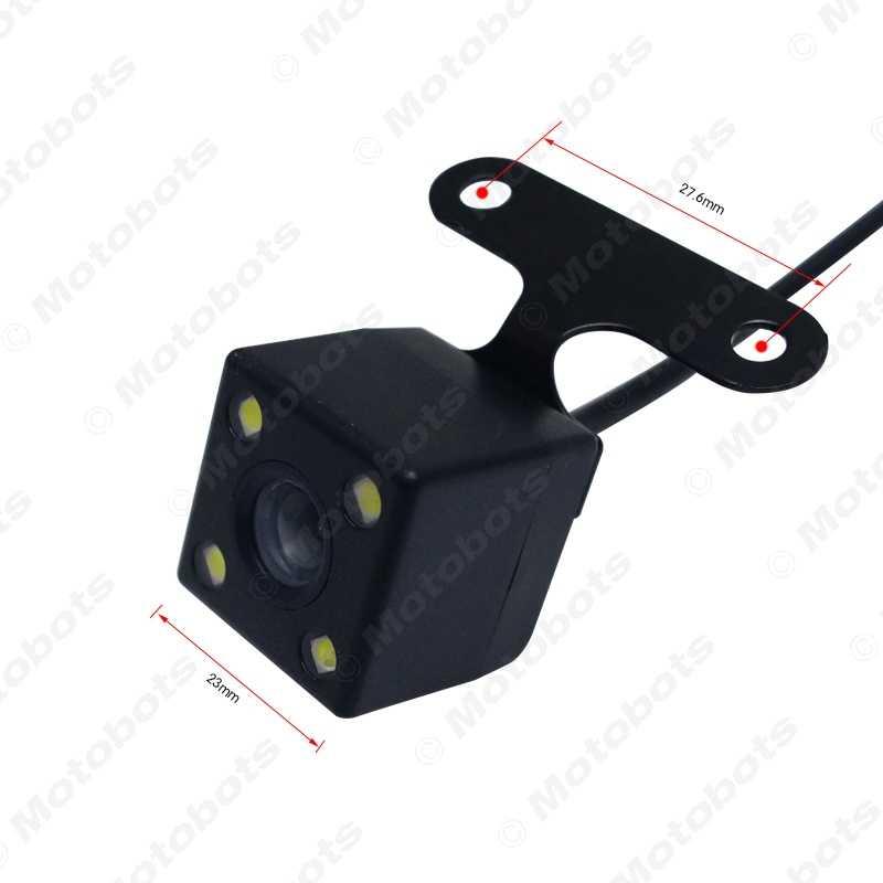 FEEELDO 1 комплект Автомобильный 2,5 мм (4Pin) разъем порт видео порт камера заднего вида со светодиодный ночного видения для DVR видеорегистратор # AM1829