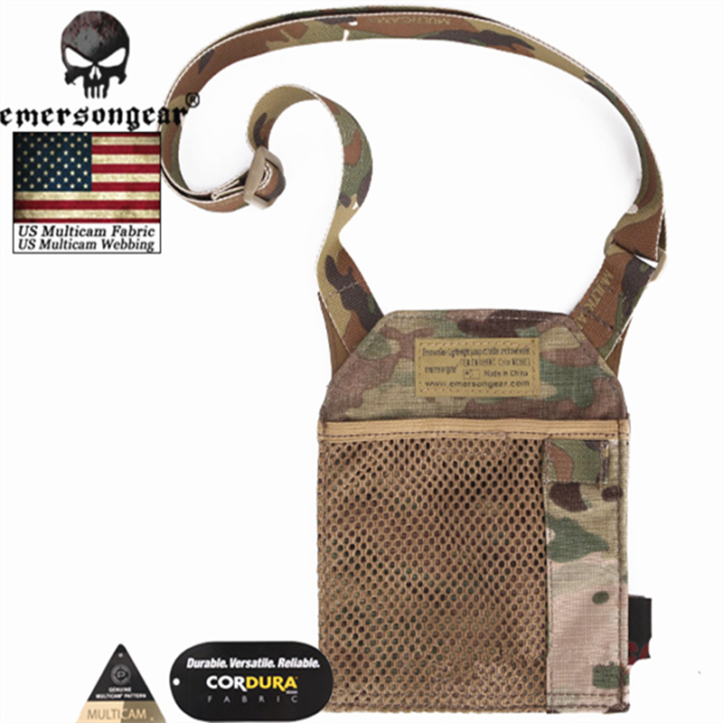 Image 3 - Emersongear Army Fan Tactical ID Card Case Patch Neck Lanyard and Credit Card Organizer ID Card Holder  by Genuine US multicam-in Pouches from Sports & Entertainment