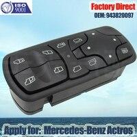 Interruptor principal de control de ventanilla eléctrico automático directo de fábrica Apply for Mercedes-Benz3341 4141 Actros A9438200097