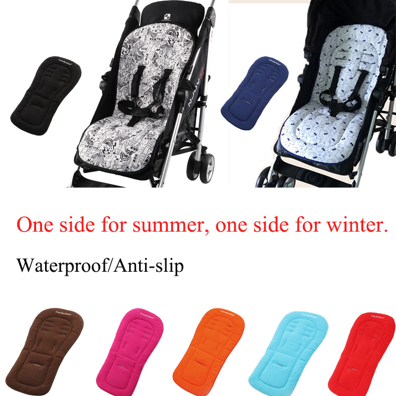 Baby stroller seat cushion Waterproof mattress Soft pram liner Universal warm car seat pad for four seasons stroller accessoriesBaby stroller seat cushion Waterproof mattress Soft pram liner Universal warm car seat pad for four seasons stroller accessories