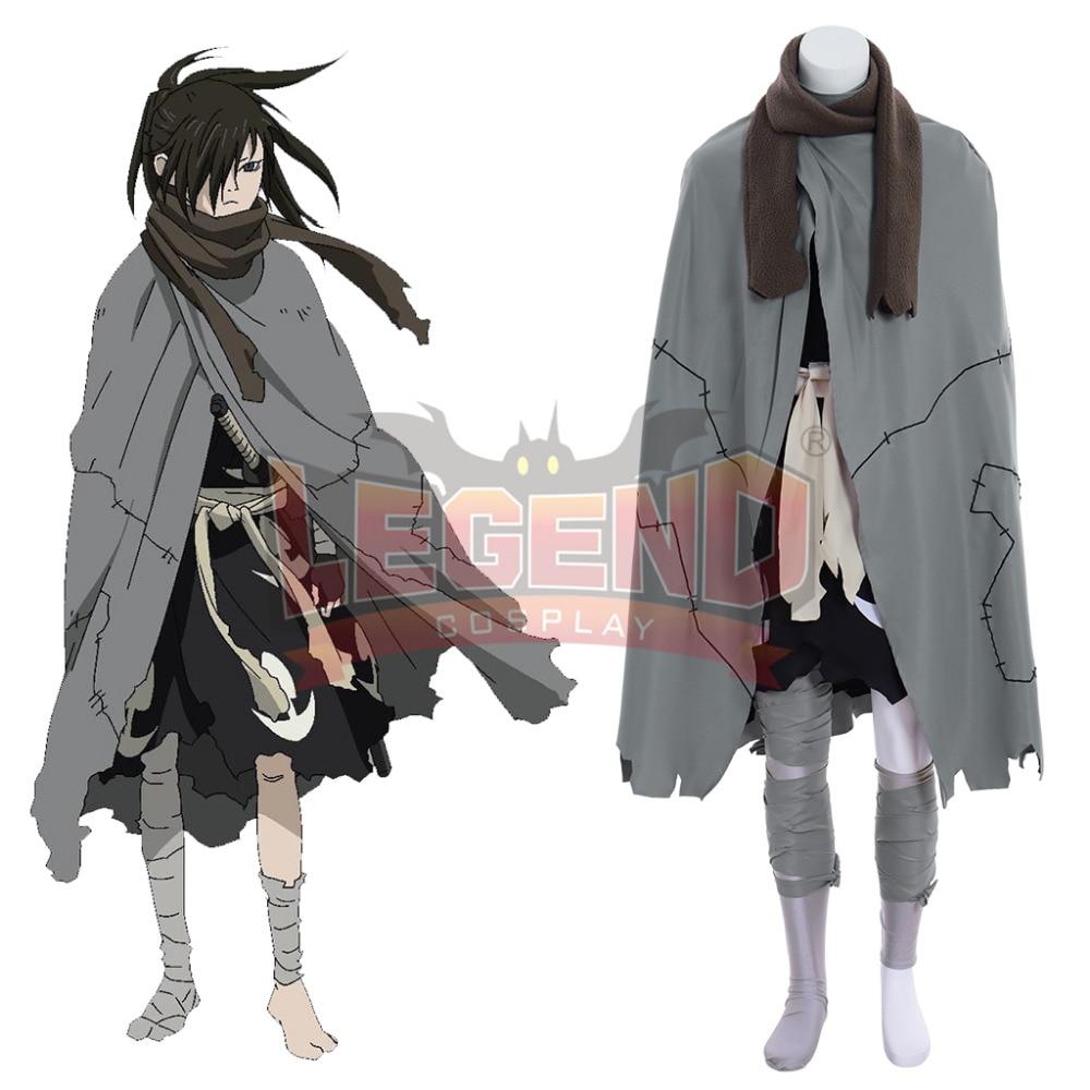 Cosplaylegend Anime Dororo Hyakkimaru Cosplay costume adult costume all size custom made full set