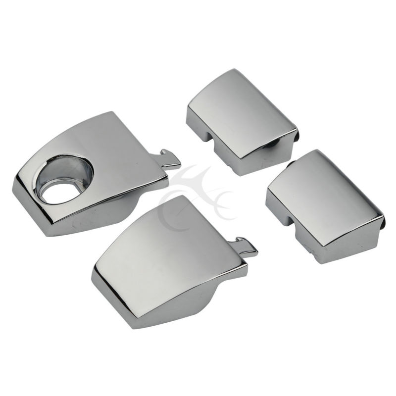 Image 3 - King Tour Pack Pak Latches For Harley Davidson Touring 88 13 FLHT FLHR FLHX Electra Road Street Glide 1988 2013-in Locks & Latches from Automobiles & Motorcycles