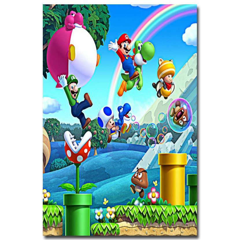 Aliexpress.com : Buy NICOLESHENTING Super Mario Bros Art