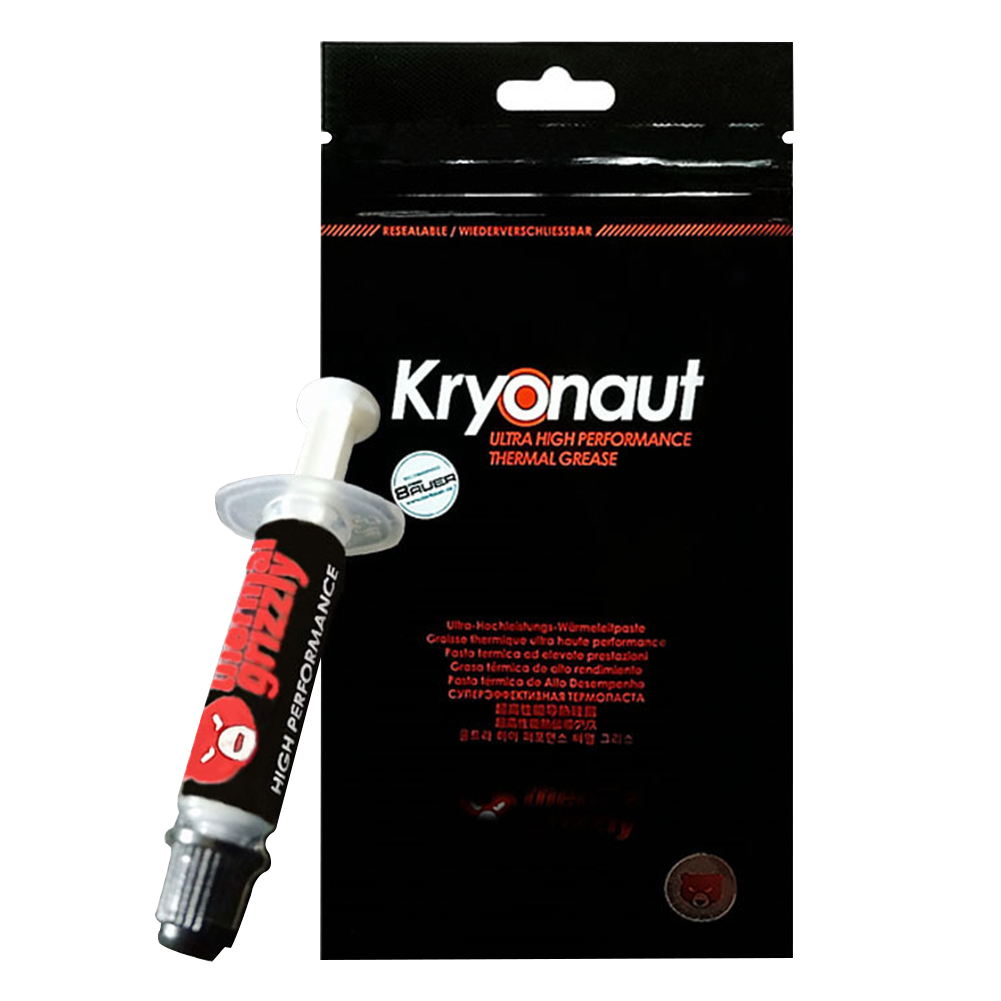 Thermal Grizzly Kryonaut 1G  CPU Intel Processor Heatsink Fan Thermal Compound Cooling Thermal Paste Cooler Thermal Grease