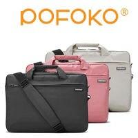 POFOKO brand Universal Laptop Ultrabook Notebook Shoulder Bag Case 13 14 15.6 17 inch for Macbook pro HP Lenovo dell Women Men