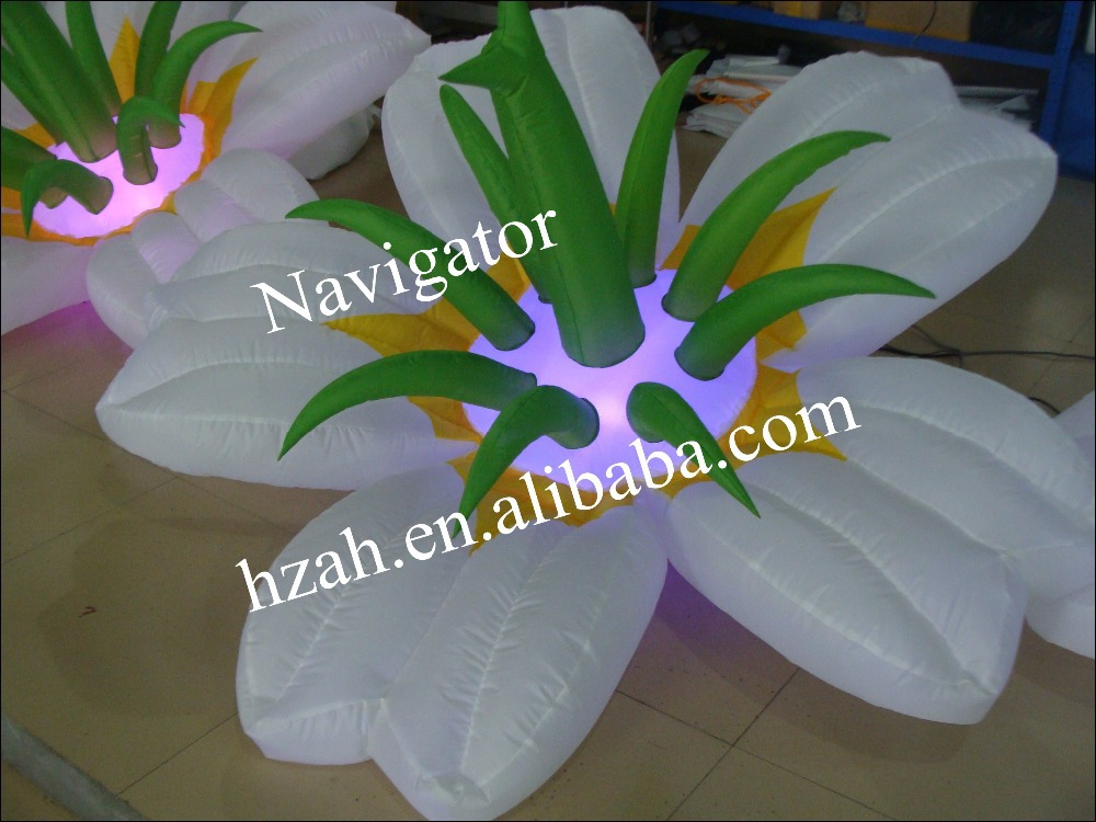 Lighting Inflatable Flower Decoration lighting inflatable flower for wedding decoration