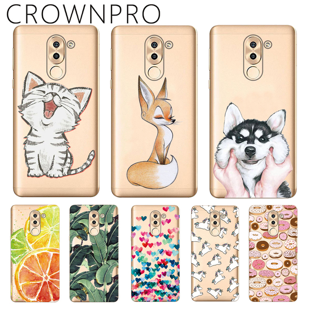 CROWNPRO Huawei Honor 6X Case Silicone Huawei Honor 6X Back Cover Huawei...
