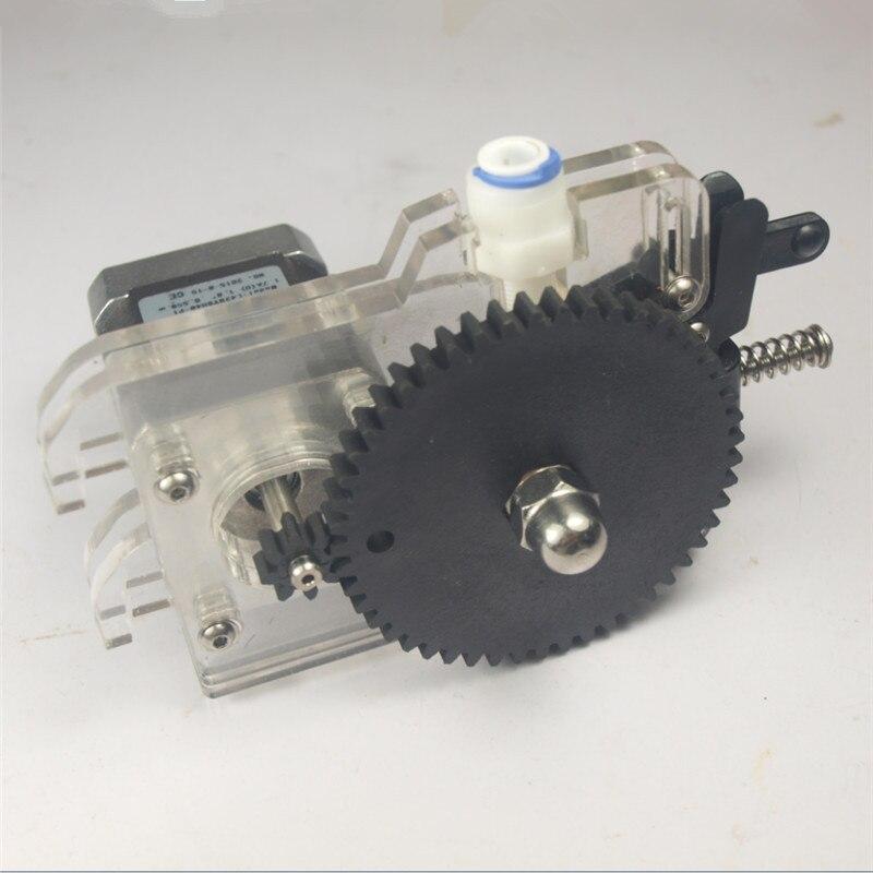 Funssor ultimaker Original extruder kit 1.75/3MM Filament  bowden extruder set for DIY ultimaker 3D printer with stepper motor long distance 3d printer j head hotend jhead for 1 75mm filament e3d bowden extruder 0 4mm nozzle bi092