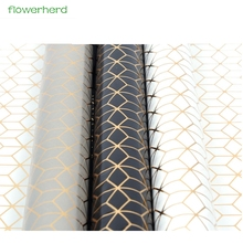 10pcs/lot 60x60cm Gold Silver Sequins Tissue Paper Flower Wrapping Paper Gift Packaging Craft Paper Roll Wine Clothing Packing