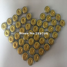100pcs/lot Medical ECG Snap Terminal Physiotherapy ECG Machine parts metal stamping snap-fastener metal buckle wire Gold plated