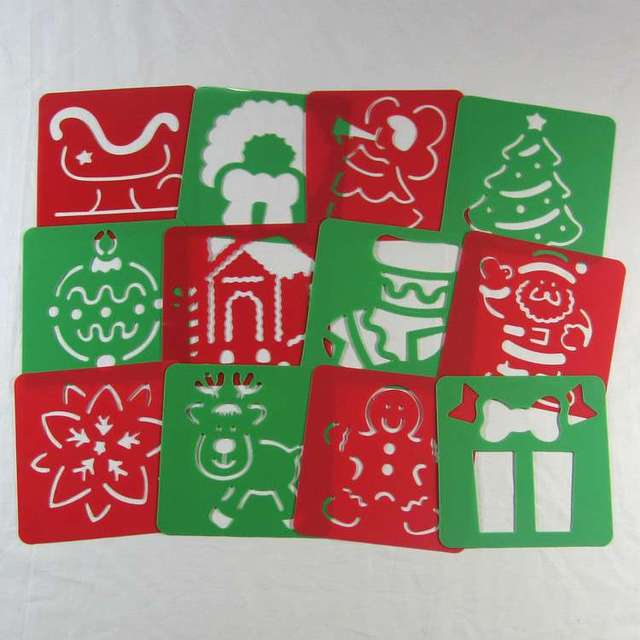Kinder Puzzle Frühen Malerei Weihnachten Zeichnung Board Skizzen