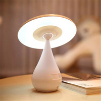 USB Rechargeable Stepless Dimming LED Desk Lamp Air Purifier Mushroom Table Lights Lighting Eyes protecting Night Light