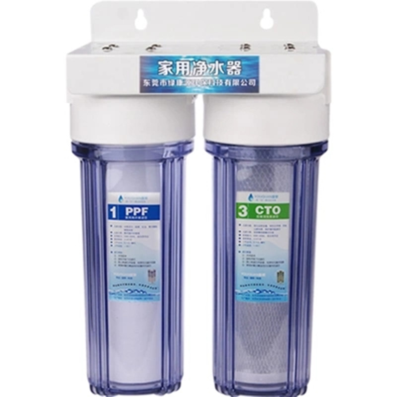 2 level Direct drinking water purifier, Pre-filter water filter,granular activated carbon,PPF cotton factory direct sales 2 level direct drinking water purifier pre filter water filter granular activated carbon ppf cotton