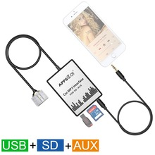 USB SD AUX Car Mp3 music Adapter CD Changer For Toyota Avalon 1998-2004(fits Select OEM Radios)
