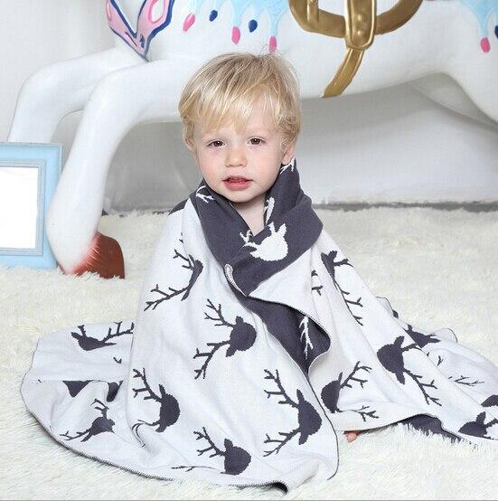 МИЛЫЕ Хлопчатобумажные Трикотажные Новорожденных Детские Одеяла Одеяло бренд babybites мода Девушки Мальчик Кровать одеяло Играть Мат