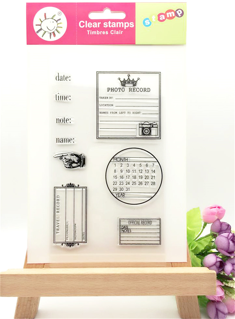 About menology Clear Silicone Rubber Stamp for DIY scrapbooking photo album Decorative craft for Christmas gift LL-009 помады still still still585 avant garde помада 585 питательная orient город ангелов 4 г