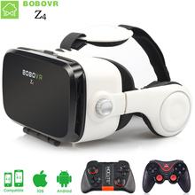 BOBOVR Z4 VR box 2.0 Virtual reality goggles 3D glasses VR Google cardboard bobo vr z4 headphone for 4.3-6.0 inch mobile phone