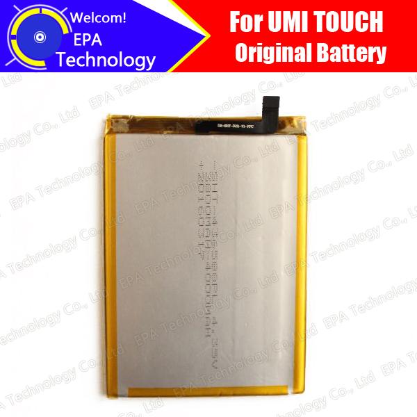 UMI Batería TOQUE Garantía 100% Original Probado de Alta Calidad de la Alta Capacidad 4000 mAh de la Batería Del Teléfono Inteligente para el TACTO