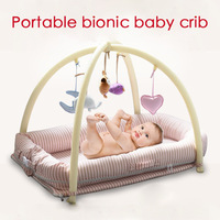 2018 New Newborn Portable Mini Crib Baby Sleeping Bag Child Play Bed Bionic Bed Baby Cradle Bed
