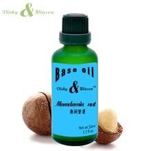 Vicky&winson Macadamia nut oil 50ml Conditioner 100% Argan Oil Hair Care Scalp Make Your Shine and Soft VWJC1