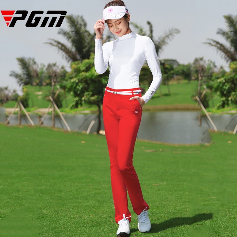 Brand PGM Women s Golf Pants Autumn Spring Sports Slim GOLF Trousers Woman Breathable Comfortable Good