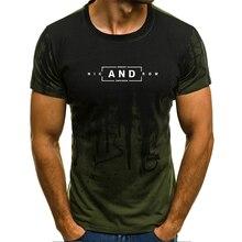 Мужская футболка 2019 с коротким рукавом с камуфляжным принтом S-4XL