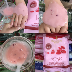 Natural rose Moisturizing Crystal jelly powder