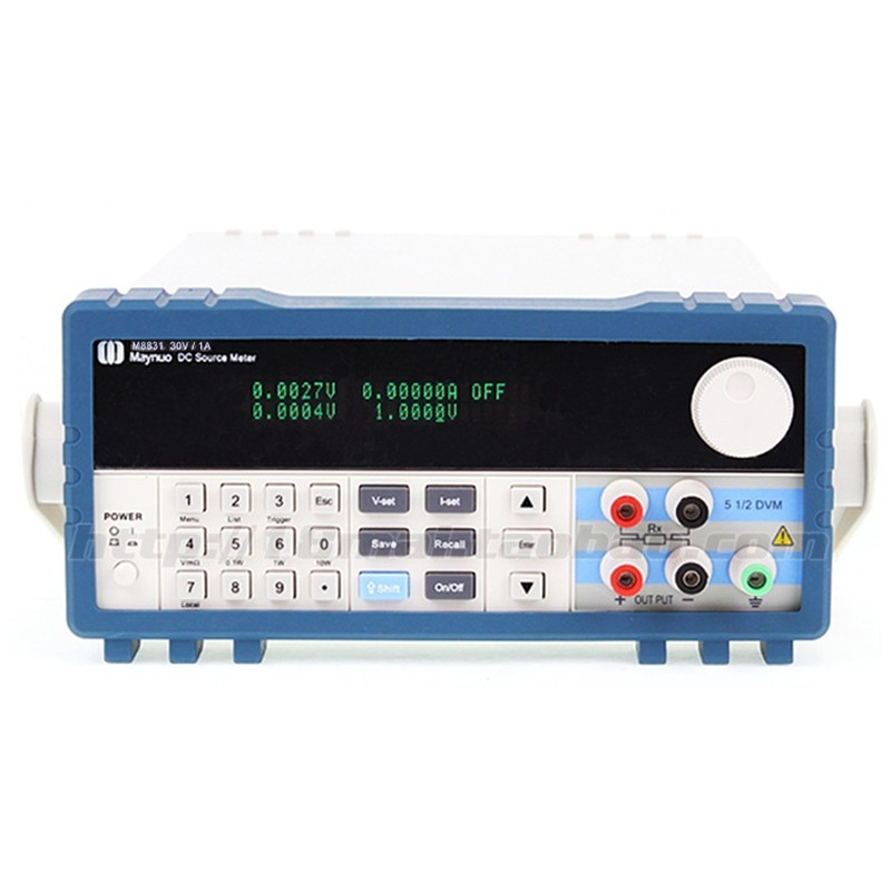 M8831 programmable DC electronic load 0-30V 0-1A 30W Mobile testing power supply цена
